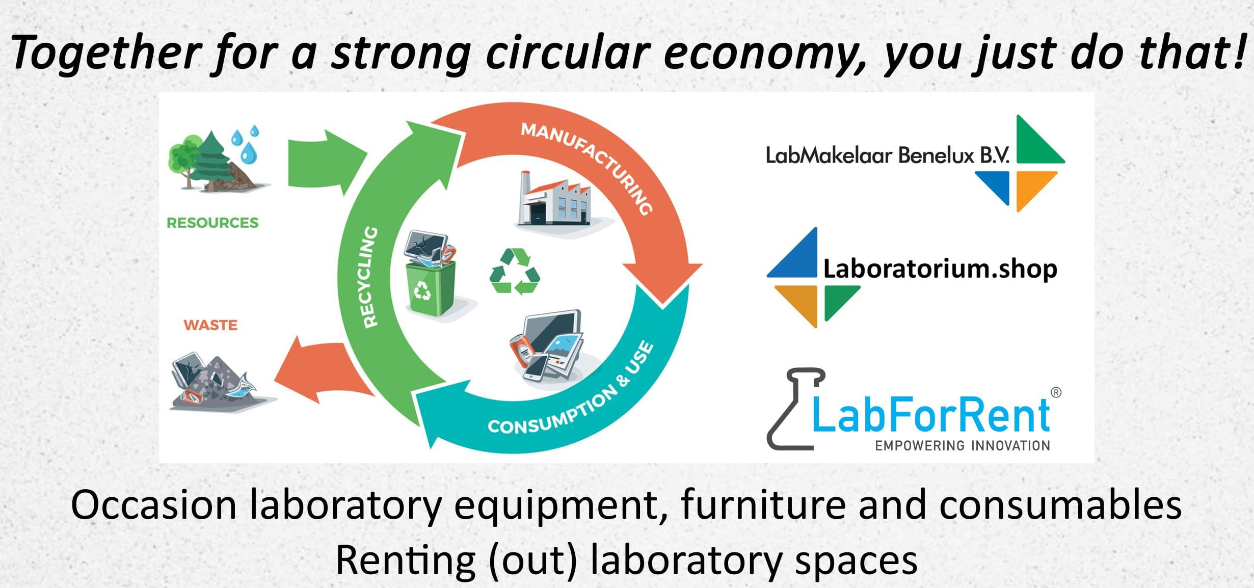 Circular economy LabMakelaar